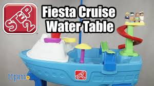 step 2 water table with umbrella fiesta cruise sand water table with umbrella from step2 youtube