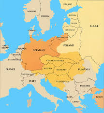 post ww1 map countries after ww1 formed from seperated territories ww1