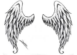 black and white wings designs pin wing tattoos