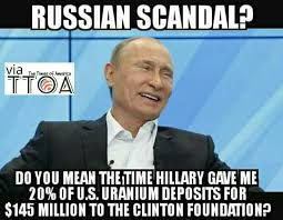 Russians Meme - hillary colluded with the russians where s the outrage