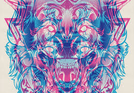 cool designs showcase of designs made with cool overprint effects