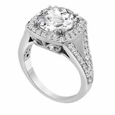 white topaz engagement ring 950 platinum 3 62 carat white topaz diamond engagement ring