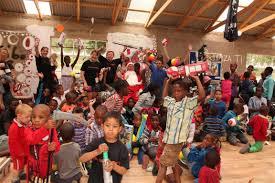 urban ruins hosts a christmas party for children boksburg advertiser