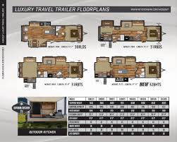 keystone travel trailer floor plans 2016 keystone rv hideout brochure rv literature