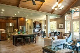 vaulted ceiling open floor plans home ideas impressive home
