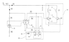 patent us6828748 speed control circuit for a brushless dc motor
