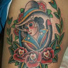 wild western tattoo 3 western back tattoo on tattoochief com