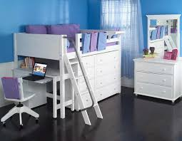 Study Bunk Bed Size Study Loft Bed By Maxtrix White 638