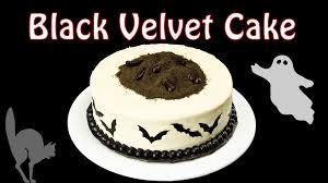 Halloween Decorations For Cakes by Black Velvet Cake Part 2 Decorating A Halloween Cake By Cookies