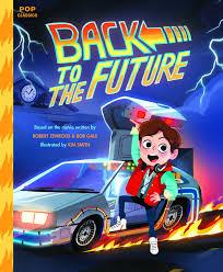 time traveling looks cute in u0027back to the future u0027 kids book marty