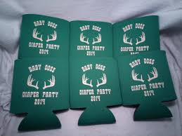 shower koozie baby shower koozie or can cooler favors odysseycustom