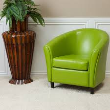 Green Chairs For Living Room Newport Lime Green Leather Club Chair Contemporary Living Room