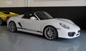 porsche boxster white 2010 porsche boxster spyder flawless cabriolet roadster for sale