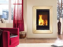 wood fireplaces inserto 50 verticale crystal bii ventilato