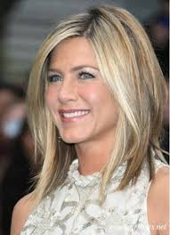 shoulder length layered longer in front hairstyle medium hair length 6 sections cut back 2 sections first then