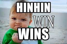 Win Baby Meme - hinhin wins win baby meme generator