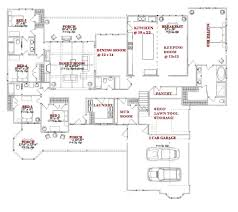 awesome 5 bedroom one story floor plans with house on any trends