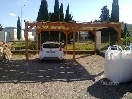 tettoia auto legno tettoia per auto in legno giardino e fai da te in vendita a siena
