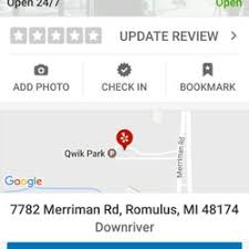 qwik park 64 reviews parking 7782 merriman rd downriver