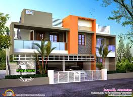 flat roof homes designs bhk modern house design with gorgeous