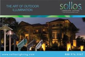 Sollos Landscape Lighting Landscapeonline Design Build Maintain Supply