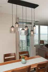 mason jar light fixture jill cordner interior design dt kitchen