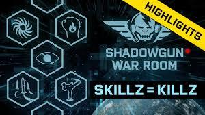 skillz u003d killz shadowgun war room 08 highlights youtube