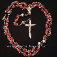 petal rosary petal rosaries and chaplets