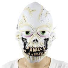 new fun buck teeth skull scary mask clown latex masks cosplay