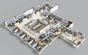collections of 3d office plan free home designs photos ideas