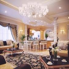Professionale Living Room Interior Design In Qatar Da Antonovich - Luxury house interior design