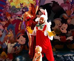 jessica rabbit who framed roger rabbit happy halloweek family halloween costume ideas