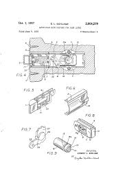 patent us2808279 latch hold back feature for door locks google