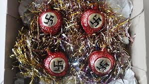 tree decorations used by the ss go on sale on sick