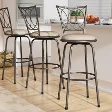 marlon adjustable height swivel bar stool u0026 reviews birch lane