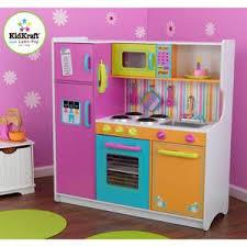 cuisine dinette dinette cuisine cuisine enfant deluxe big and bright kidkraft