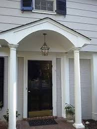 colonial front porch designs our colonial home the before tour colonial clarks and porch