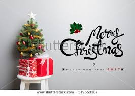gift boxes small decorated tree stock photo 519553387
