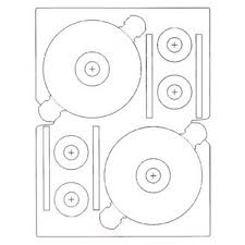 cd stomper 2 up standard with center labels template images