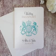 passport wedding invitations ebay