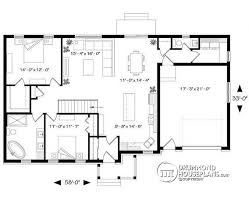 bungalow floor plan house plan w3131 v3 detail from drummondhouseplans