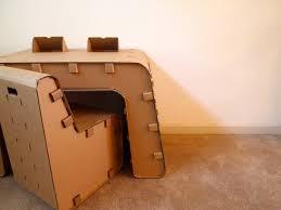 How To Make A Cardboard Desk Prissy Furniture Good Looking Diy Cardboard Furniture Designs As