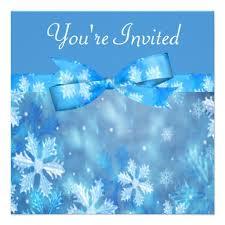 personalized winter wonderland wedding invitations