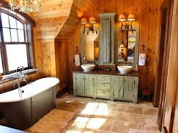 Rustic Bathroom Lighting Ideas Rustic Bathroom Lighting Ideas Home Interiors