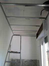controsoffitto in cartongesso fai da te struttura soffitto cartongesso idea creativa della casa e dell