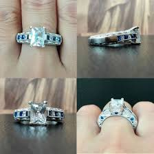Promise Ring Engagement Ring And Wedding Ring Set by Promise Engagement And Wedding Ring Set Wedding Rings Rings