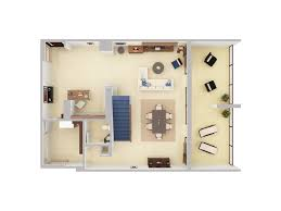 3d Floor Plans Caribe Hilton San Juan Floor Plan 3d Suite
