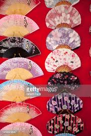 japanese fans for sale traditional japanese fans for sale stock photo getty images