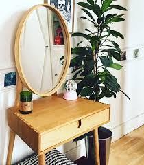 Oak Vanity Table Penn Dressing Table Oak From Made Com Light Wood Penn Is
