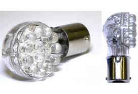right angle 1156 led replacement bulbs for motorcycle turn signals